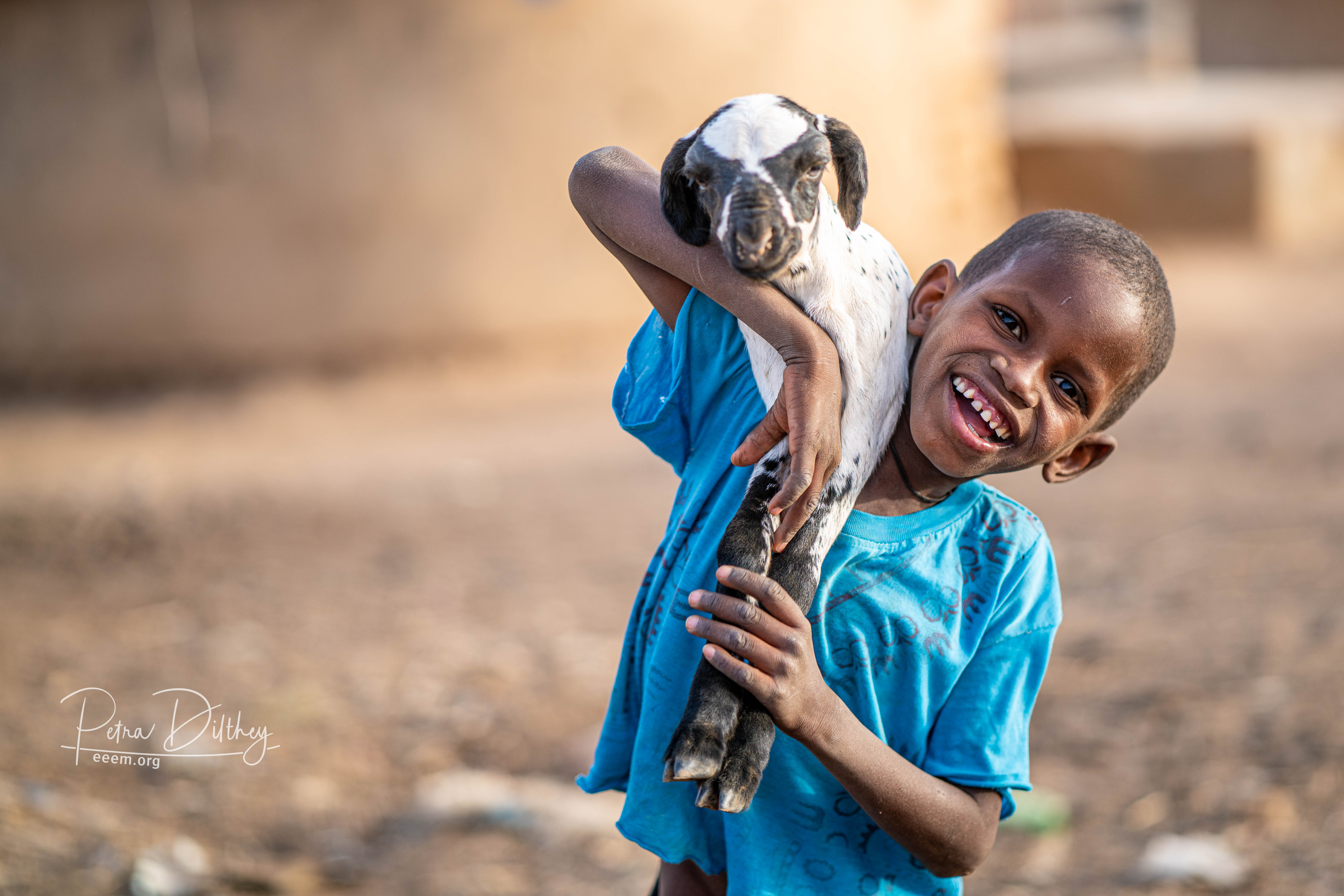 Young herder in Senegal