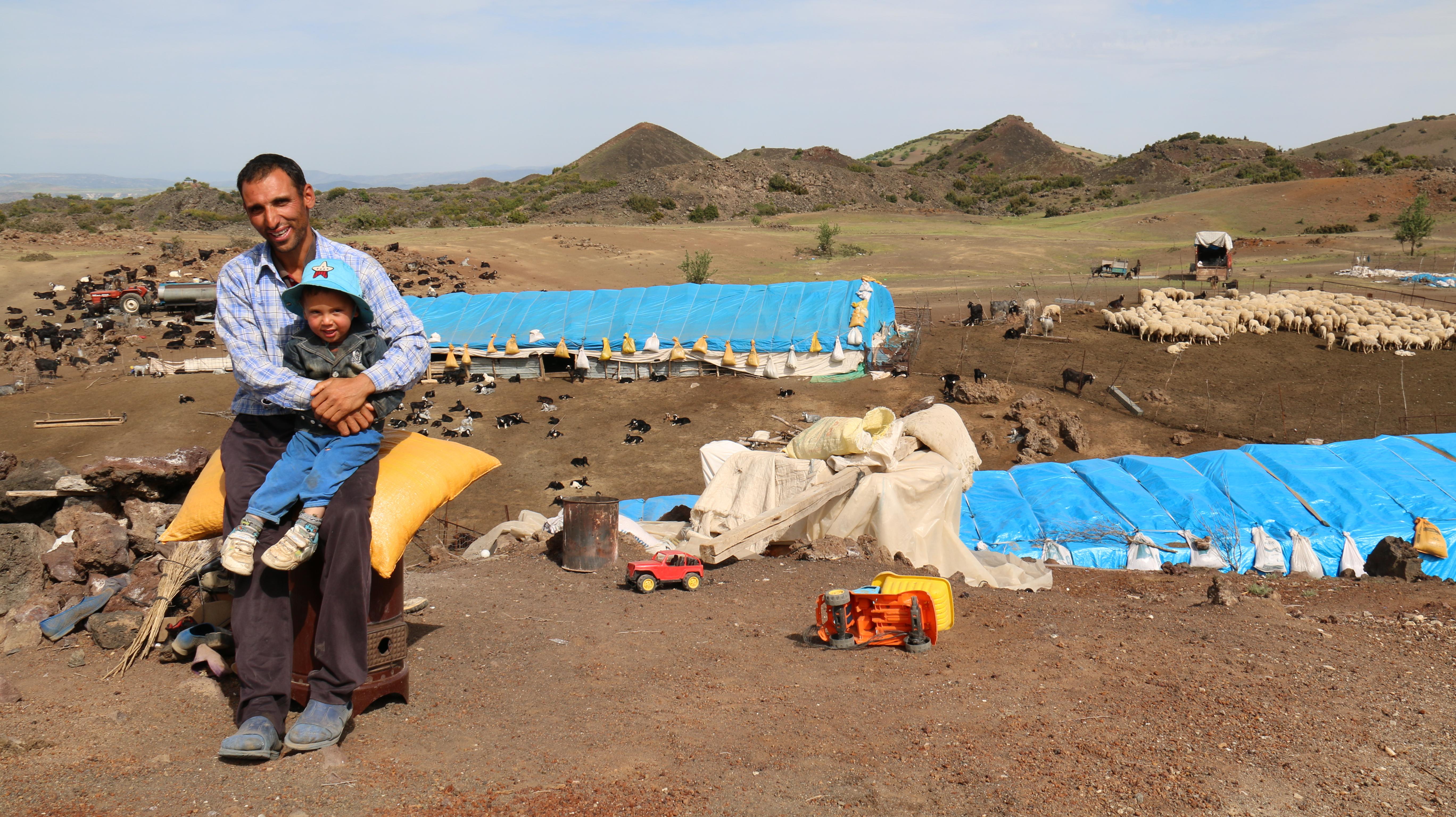 Nomads' winter range in Turkey