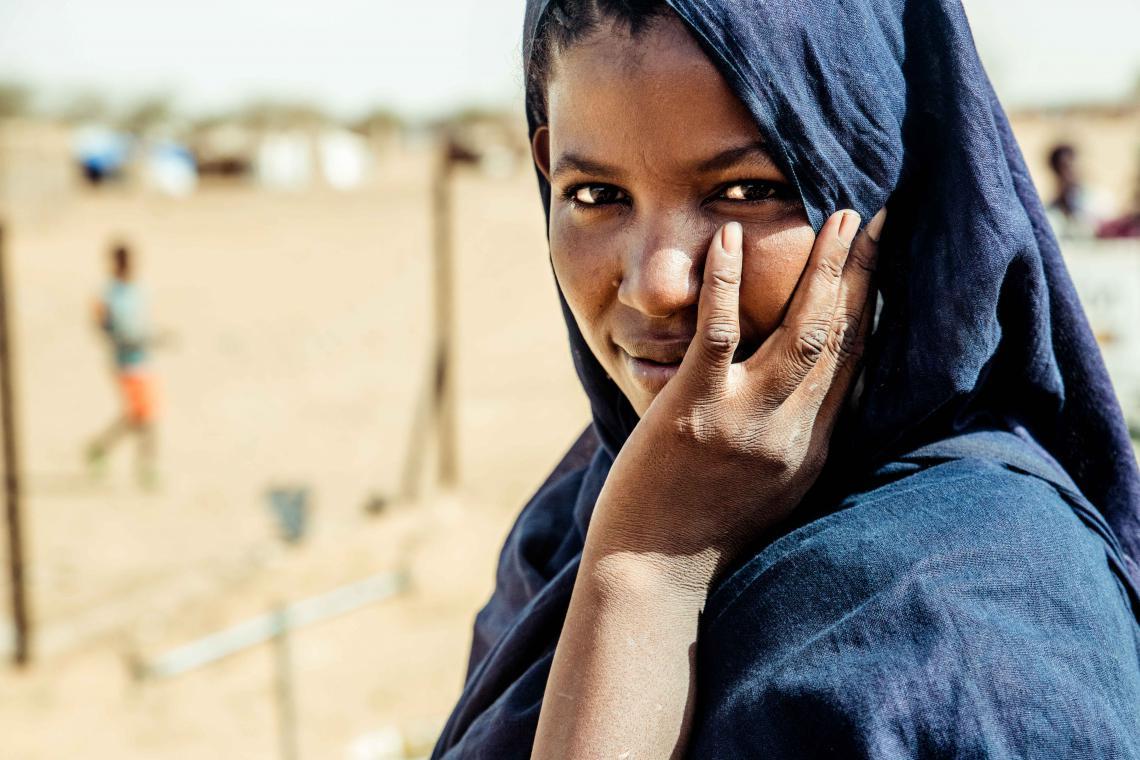 Burkina dairywoman
