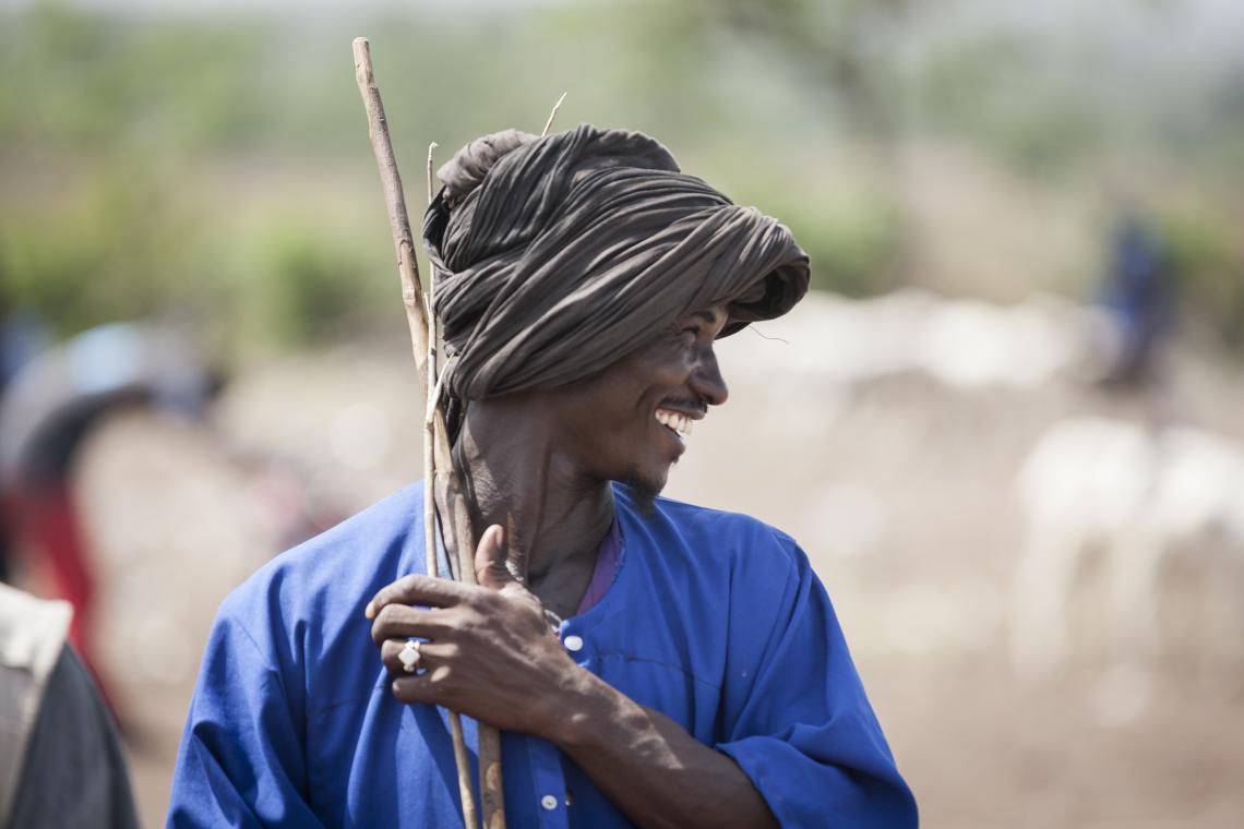 Herder in Mali