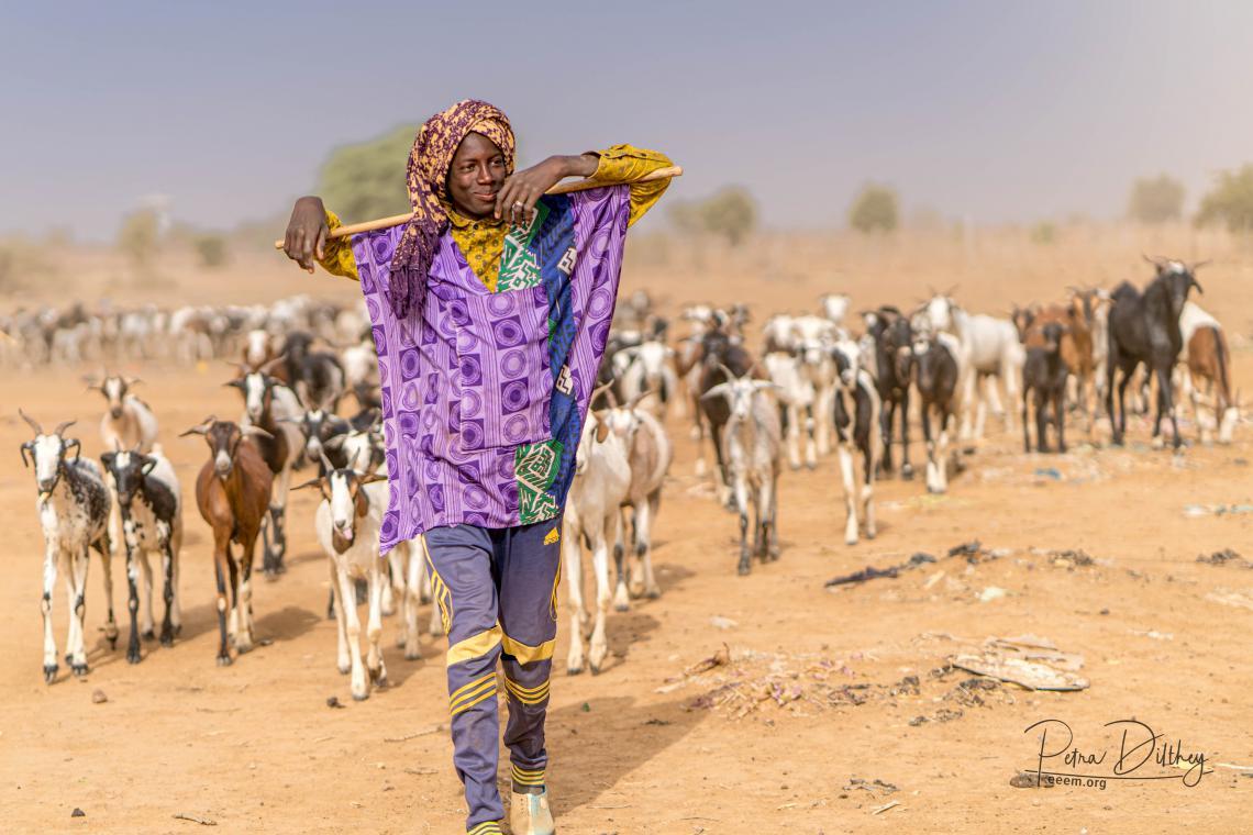 Peul herder in Senegal